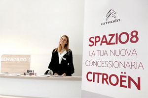 Spazio Group dà il benvenuto a Citroën