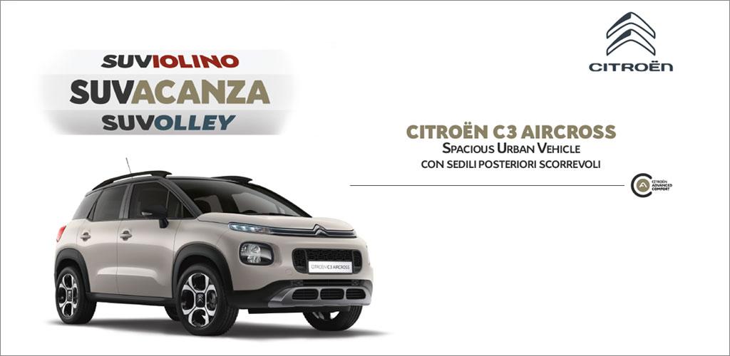 Citroën C3 Aircross Torino